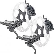 Shimano XT Bremsen Disc und V-Brake