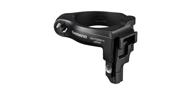 Shimano XTR Di2 Umwerferadapter SM-FD905-H hoch 34,9mm incl Adapter 31,8-28,6