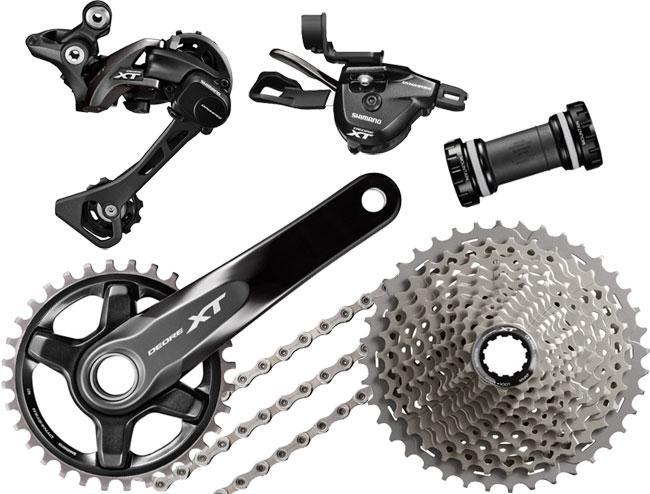Schaltwerke Shimano Deore XT RD-M8000 Schaltwerk 11-fach schwarz 2019 Mountainbike Fahrradteile & -komponenten