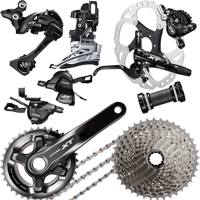 SHIMANO DEORE XT FD-M8000-E 3-fach 11-fach UMWERFER E-TYPE FRONT PULL SIDE SWING