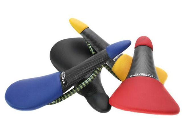 Tune Speedneedle LE Carbon Sattel schwarz-gelb Gestell Carbon