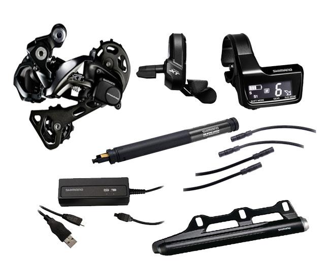 Shimano XT Di2 M8050 Schaltungsset 11x1 fach