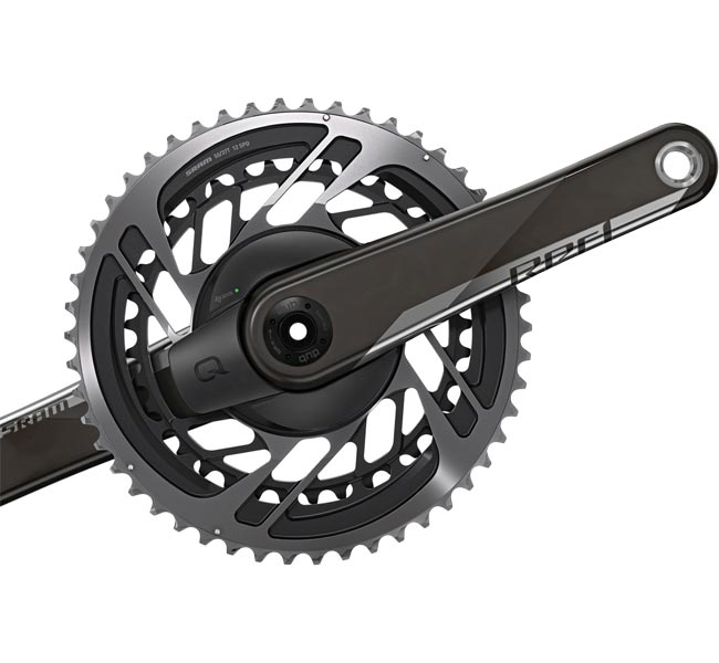 Sram Red AXS Quarq Powermeter DUB 12x2 fach 170 mm Abstufung 50-37 Zaehne