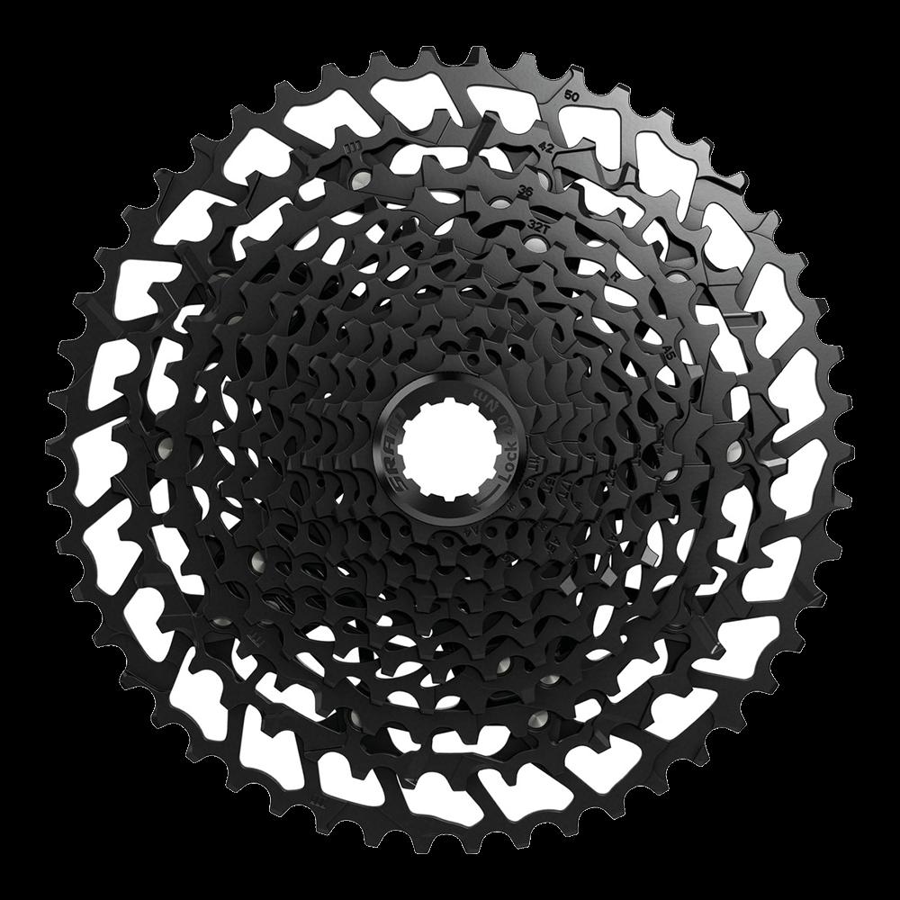 Sram NX Eagle Kassette 11-50 Zaehne schwarz 12 fach PG-1230