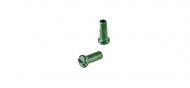 DT Swiss Aluminium Speichennippel 2,0 mm gruen 12 mm Laenge