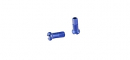 DT Swiss Aluminium Speichennippel 2,0 mm blau 12 mm Laenge