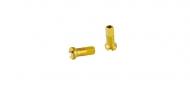 DT Swiss Aluminium Speichennippel 2,0 mm gold 12 mm Laenge