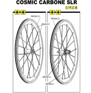 Mavic Cosmic Carbone SLR Ersatzfelge Vorderrad Modell 2009