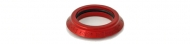 Chris King Bearing Cup 1 1/8 Zoll sotto voce rot