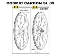 Mavic Cosmic Carbone SL Ersatzspeiche Hinterrad rechts 306 mm Modell 2009 AUSVERKAUFT
