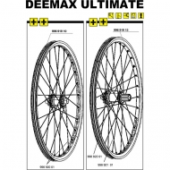 Mavic Deemax Ultimate Speiche 2010-11 Hinterrad links 268 mm