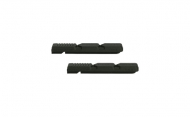 Kool Stop Linear Pull Bremsgummis schwarz Cartridge V Brake 2 Stueck