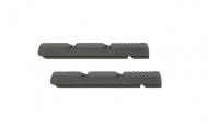 Kool Stop Linear Pull Bremsgummis grau Cartridge V Brake 2 Stueck