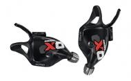 Sram X0 Trigger Set 10-2 fach schwarz-rot