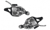 Sram X0 Trigger Set 10-2 fach silver