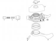 Sram X0 Trigger Zugeinstellschrauben Set 10 fach