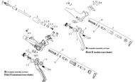 Avid Elixir R - Code R Bremshebelschelle Kit poliert schwarz