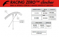 Fulcrum Racing Zero Speiche HR links 276,5 mm schwarz