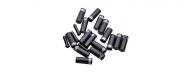 Sram Ferrule Aluminium Endkappen Set schwarz