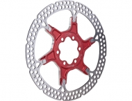 Formula Bremsscheibe zweiteilig rot 140 mm 6 Loch