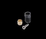Shimano Anschlussset Hebel SM-BH90 Pin silber - Olive - Klemmschraube