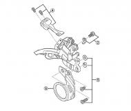 Shimano E-Type Befestigungsplatte XTR-XT-SLX Umwerfer 10x2 fach