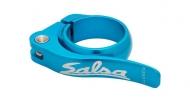 Salsa Flip Lock Sattelstuetzen Schnellspann Klemme hellblau 30,0 mm