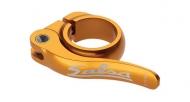 Salsa Flip Lock Sattelstuetzen Schnellspann Klemme gold 30,0 mm