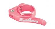 Salsa Flip Lock Sattelstuetzen Schnellspann Klemme pink 30,0 mm