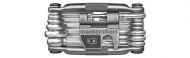 Crank Brothers Multi -19 Tool Miniwerkzeug schwarz
