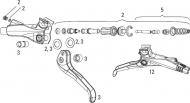 Avid Elixir XX X0 CR Mag Bremshebel Kolbenstift Set