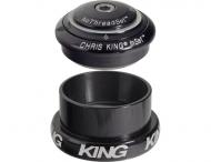 Chris King InSet i3 Mixed Tapered Steuersatz schwarz ZS44-EC49