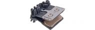Shimano Discbelag H03C Metall IceTec 4 Kolben mit Kuehlrippen XTR-XT-SLX-Saint-Zee