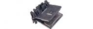Shimano Discbelag H01A Resin IceTec 4 Kolben mit Kuehlrippen XTR-XT-SLX-Saint-Zee