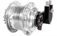 Rohloff Speedhub 500/14 CC DB EX OEM Disc 32 Loch silber eloxiert