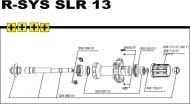 Mavic R-SYS SLR Hinterrad Nabenlager 2 Stueck