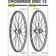 Mavic Crossride Disc Ersatzfelge Voderrad FTS-X 26 Zoll Modell 2013