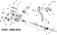 Avid Code Bremshebel Druckpunksverstellschraube Modell 2008-10