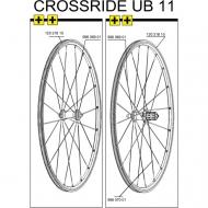 Mavic Crossride UB Ersatzfelge 26 Zoll schwarz ab Mod 2011
