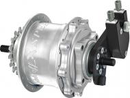 Rohloff Speedhub 500/14 TS DB EX OEM silber 36 Loch