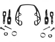 Magura Evo2 Adapter schwarz komplett fuer eine HS33 Bremse