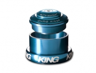 Chris King InSet i3 Steuersatz Mixed Tapered ZS44-EC49 tuerkis