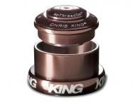 Chris King InSet i3 Steuersatz Mixed Tapered ZS44-EC49 braun