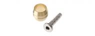 Shimano Olive und Pin silber fuer Discleitungen SM-BH90