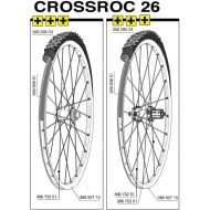 Mavic Crossroc Felge 26 Zoll Vorder- oder Hinterrad ab Modell 2014