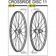 Mavic Crossride Disc Speiche 263 mm 26 Zoll Modell 2009 - 2012