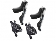 Disc Set Shimano Di2 STI ST-R785 + Disc Post Mount BRRS785 Road 11-2 fach