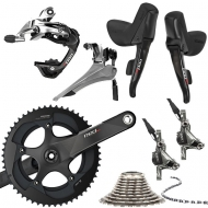 Sram Red 22 Disc Gruppe BB30 komplett B2 black Post Mount 11x2 fach