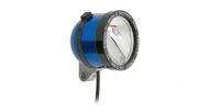 Schmidt Son Edelux II Fahrradlampe blau 140 cm Kabel 90 Lux