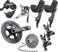 Sram Force 22 HRD Gruppe BB30 Disc Post Mount